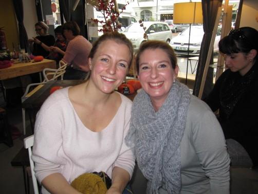 Katrin und Marisa bei Dawanda schoenstricken.de