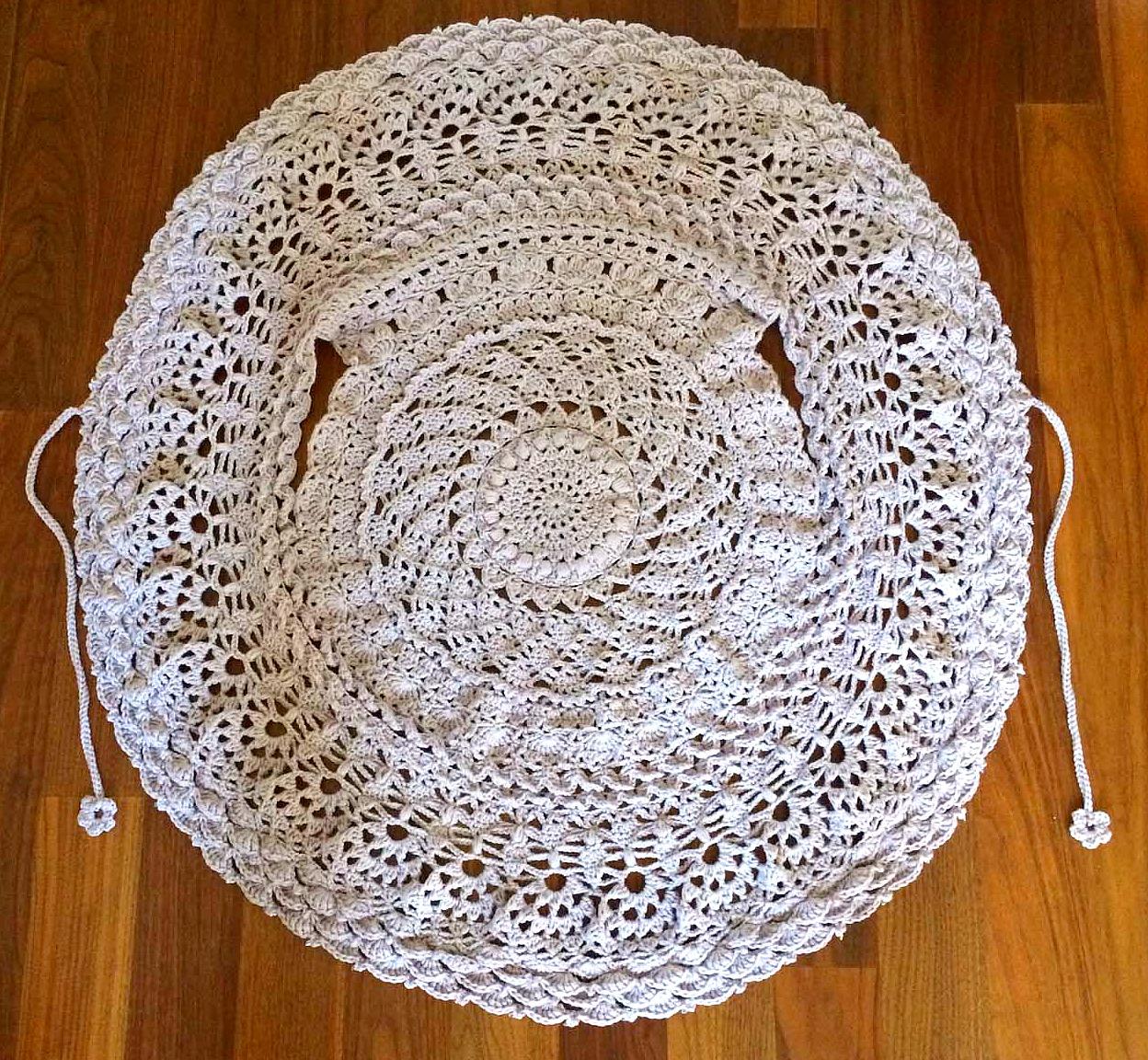 Schoenstrickende Teil 7 Kreisweste Crochetalong