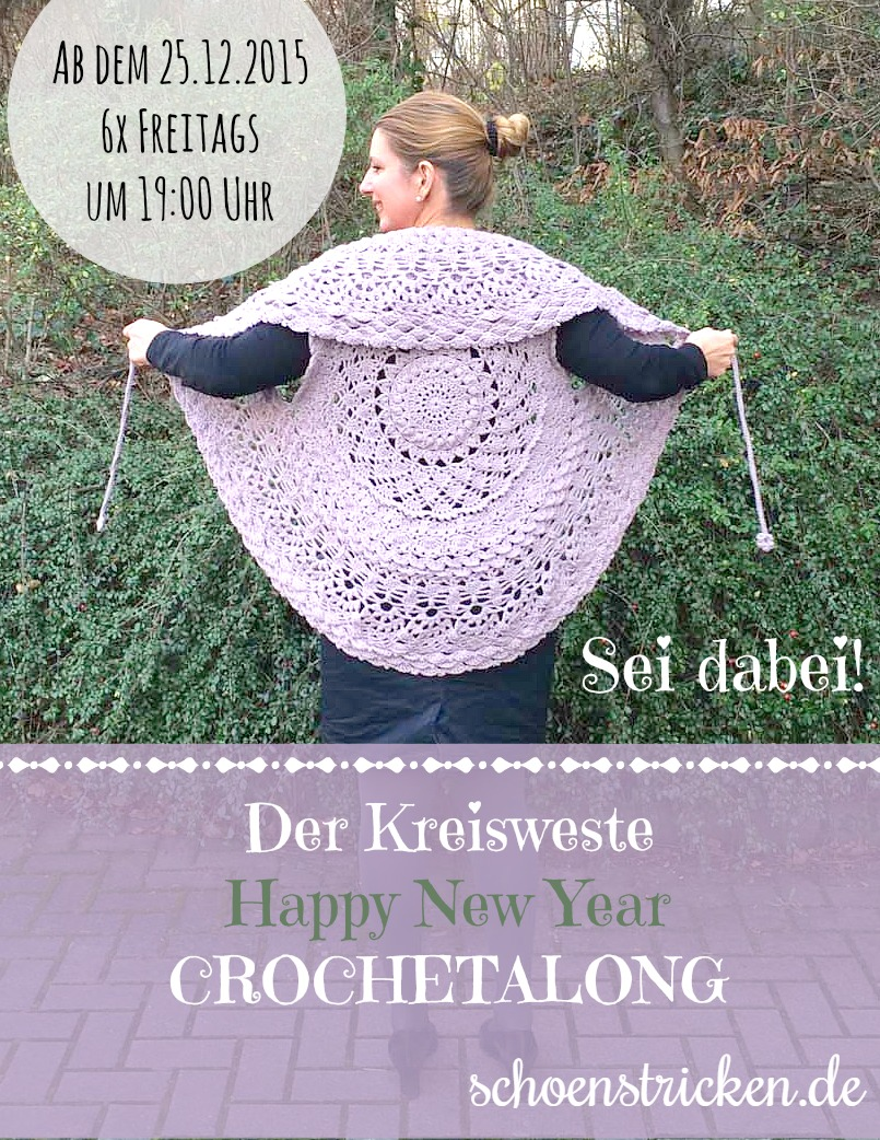 schoenstricken.de | Der Kreisweste Crochetalong
