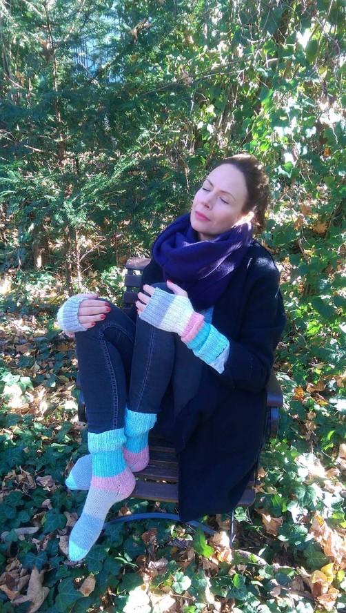 Streifenwolle pastell von schoenstricken.de