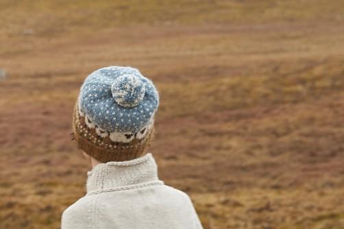 Baa Blee Hat Mütze mit Schafen stricken schoenstricken.de
