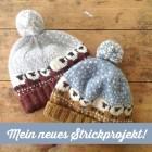 Bablee Hat Mütze mit Schafen stricken 1 schoenstricken.de