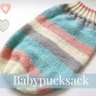 Babypucksack stricken 0 schoenstricken.de