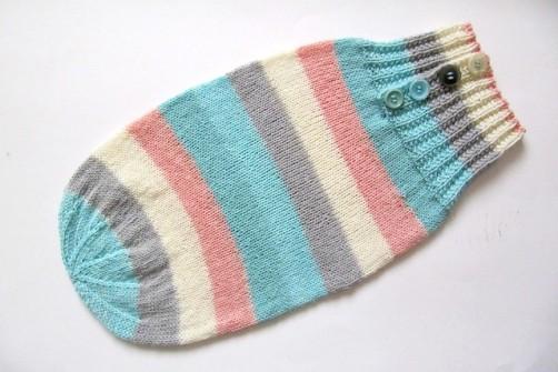Babypucksack stricken 2 schoenstricken.de