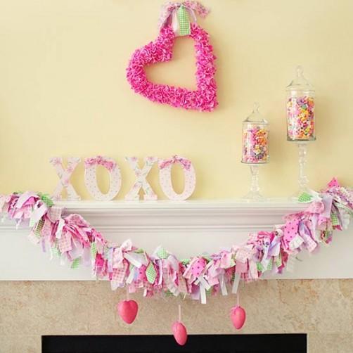 Valentinstags DIY DEko schoenstricken.de