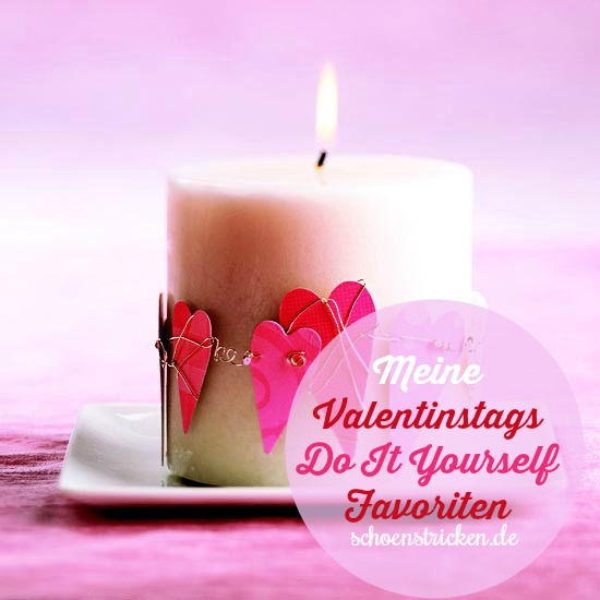 Valentinstags Herzchendeko COVER schoenstricken.de