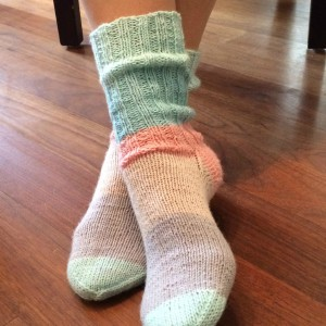 "Socken ""Mini-Knit-Along"""