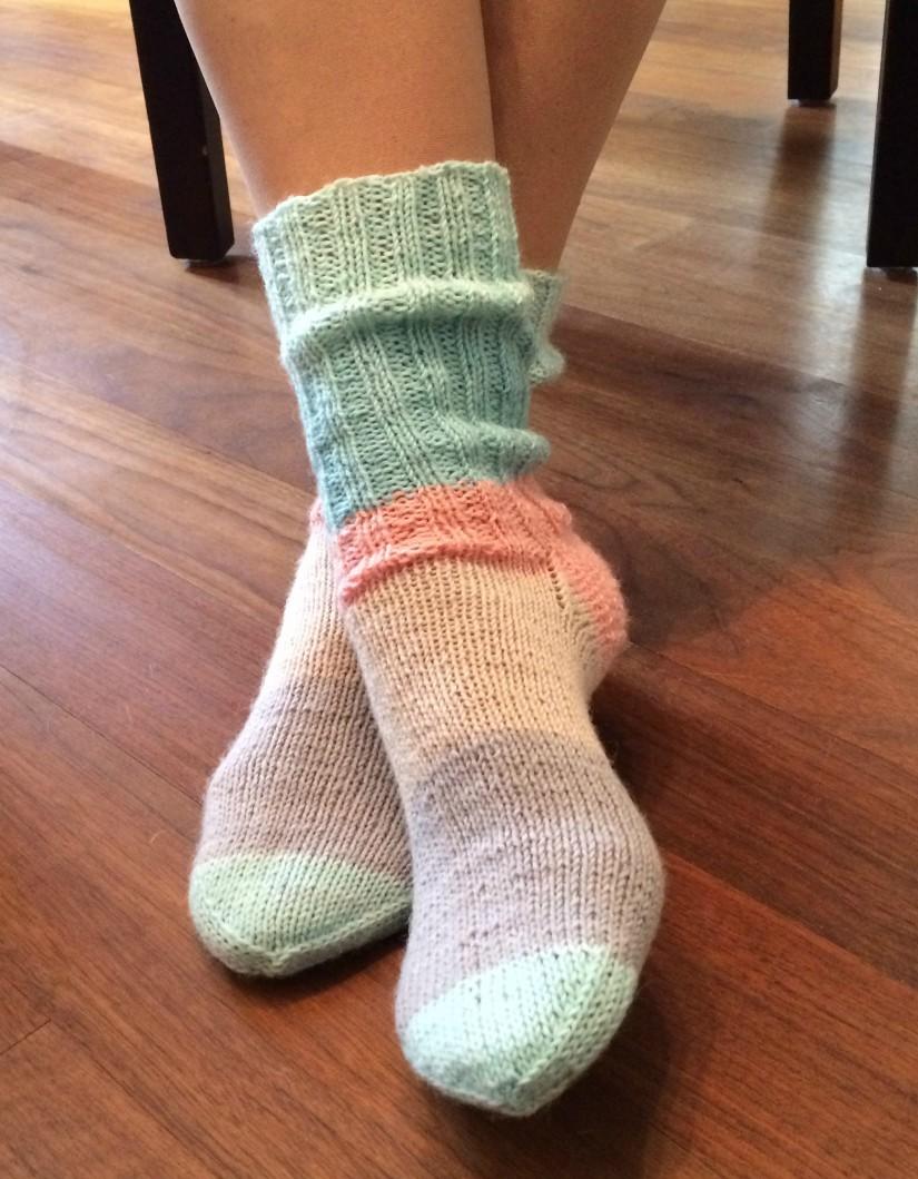 Socken selber stricken