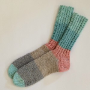 "Teil 1 Socken ""Mini-Knit-Along"""