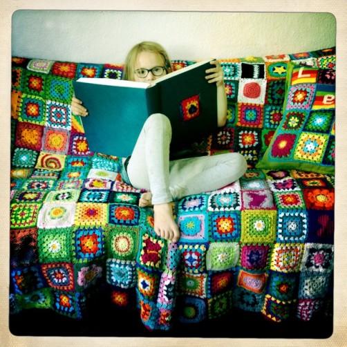 Leni und ihre Decke