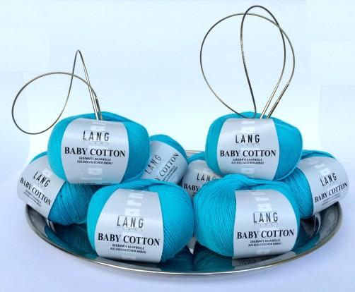 schoenstricken Knit Along Baby Cotton