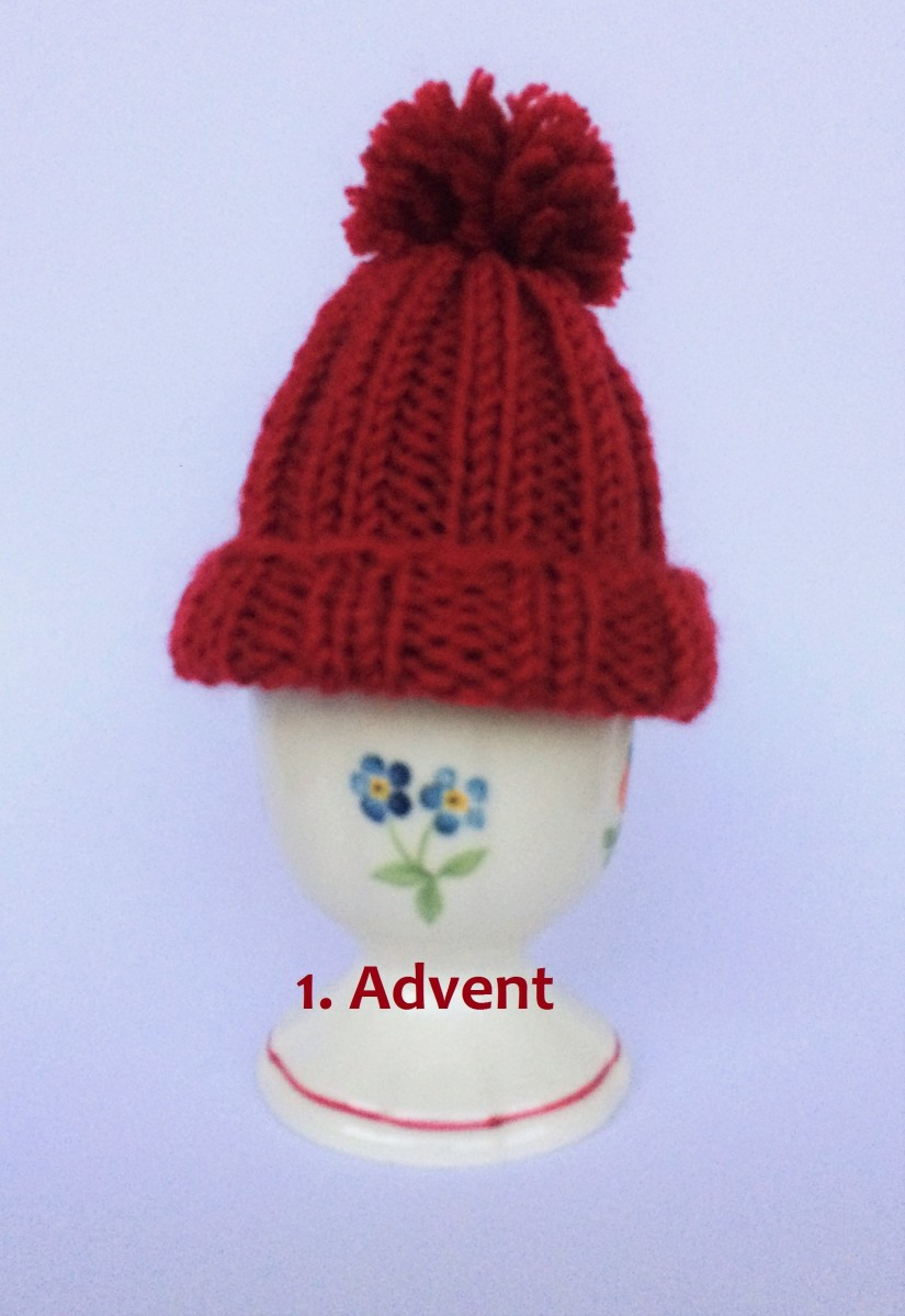 schoenstricken 1. Advent