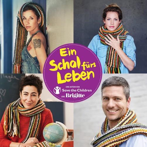 schoenstricken.de Ein Schal fürs Leben Unterstützer