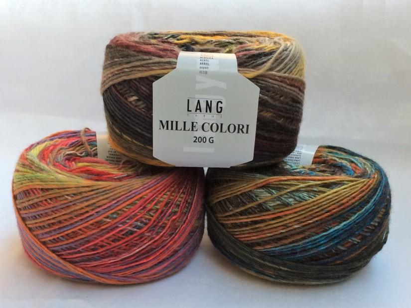 schoenstricken Mille Colori 200g von Langyarnswolle