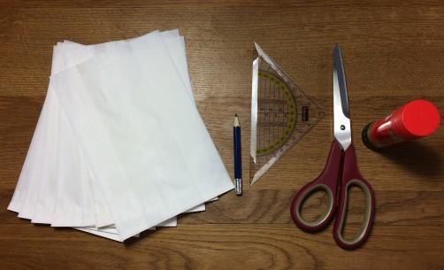 schoenstricken Papierstern basteln