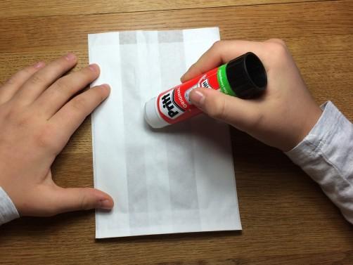 schoenstricken Papierstern basteln1