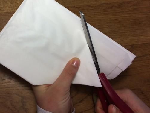 schoenstricken Papierstern basteln10