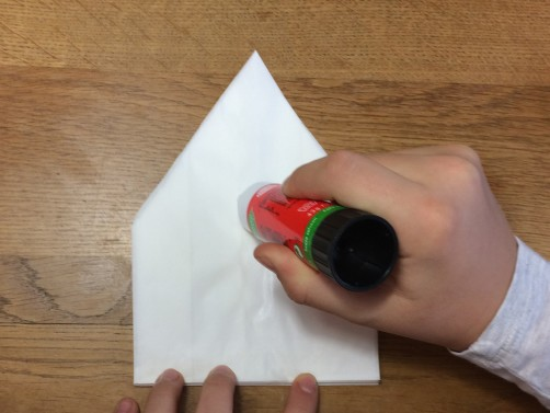schoenstricken Papierstern basteln12