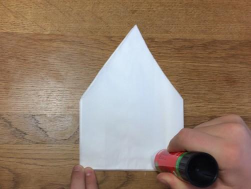 schoenstricken Papierstern basteln13