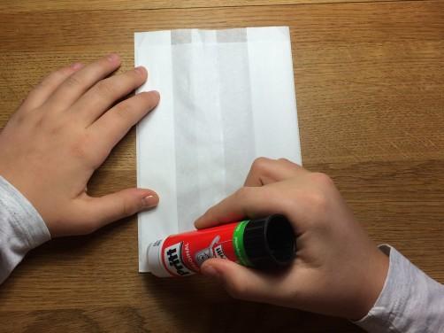 schoenstricken Papierstern basteln2