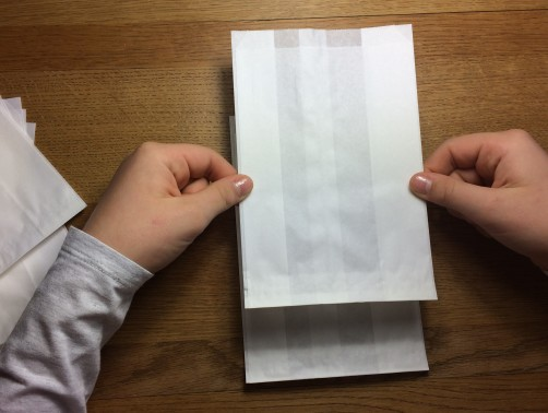 schoenstricken Papierstern basteln3