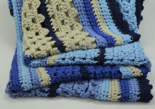 schoenstricken Crochet Along Kuscheldecke