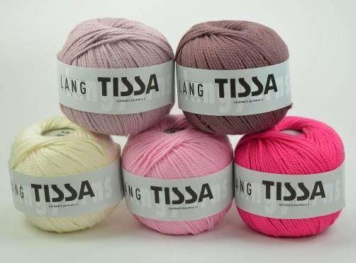 schoenstricken langyarnswolle Tissa rosa