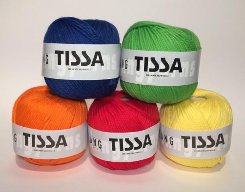 schoenstriclen langyarnswolle Tissa bunt