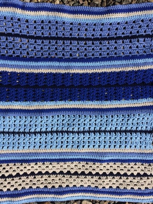schoenstricken Crochet Along Kuscheldecke Bild 10