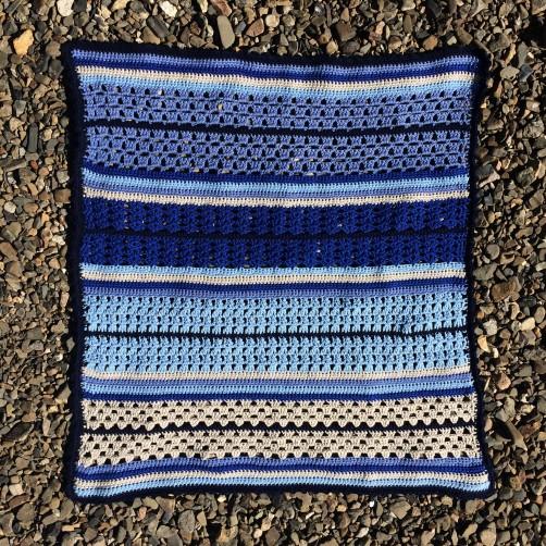 schoenstricken Crochet Along Kuscheldecke Bild 11