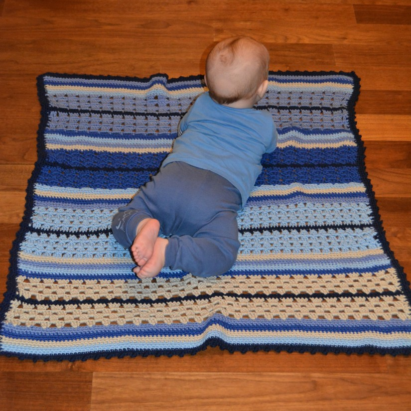 schoenstricken Crochet Along Kuscheldecke Bild 13