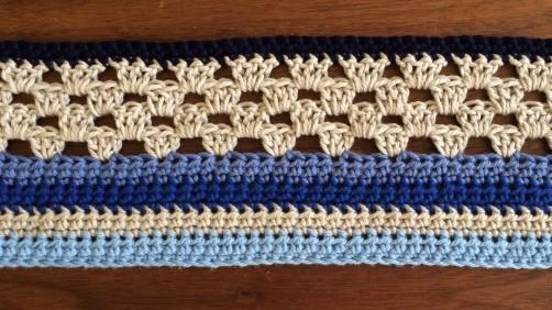 schoenstricken Crochet Along Kuscheldecke Bild 2