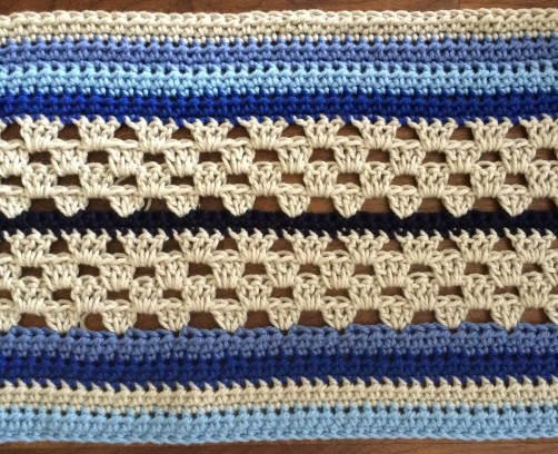 schoenstricken Crochet Along Kuscheldecke Bild 4