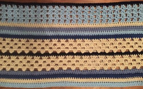 schoenstricken Crochet Along Kuscheldecke Bild 5