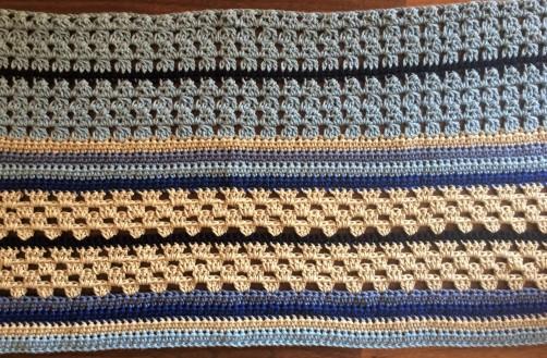 schoenstricken Crochet Along Kuscheldecke Bild 6