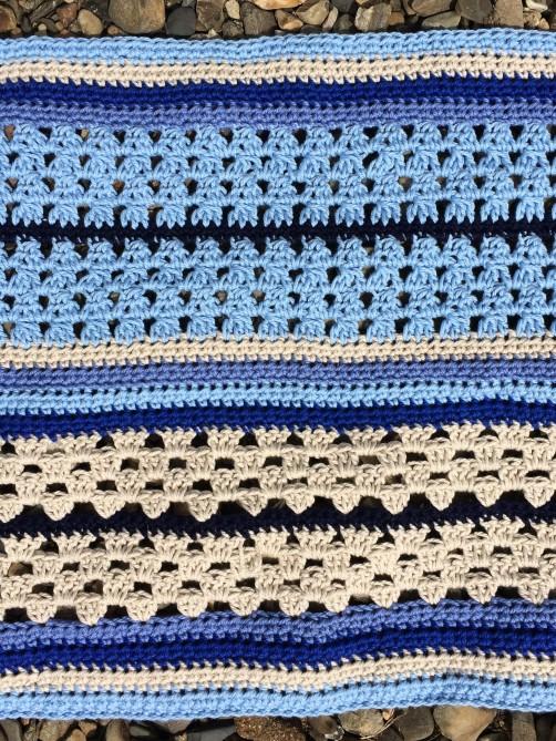 schoenstricken Crochet Along Kuscheldecke Bild 7