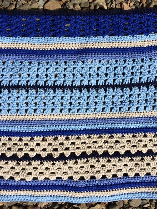 schoenstricken Crochet Along Kuscheldecke Bild 8