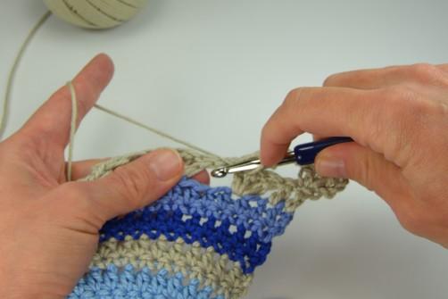 schoenstricken Crochet Along Kuscheldecke Muster 1q
