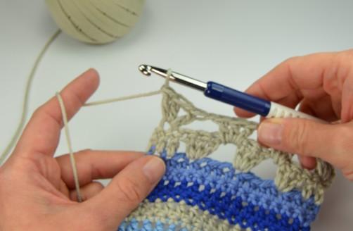 schoenstricken Crochet Along Kuscheldecke Muster 1r