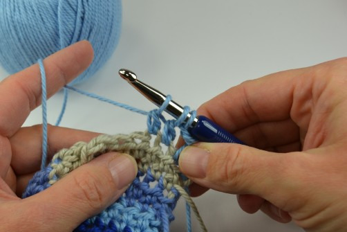 schoenstricken Crochet Along Kuscheldecke Muster 2c