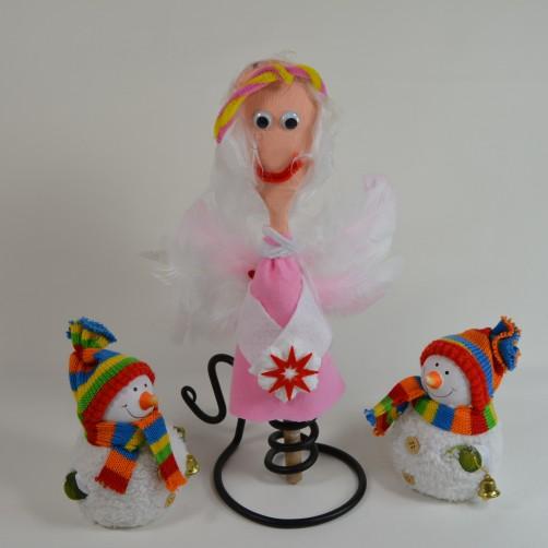 Schoenstrickende Einen Engel Ganz Leicht Für Weihnachten Basteln