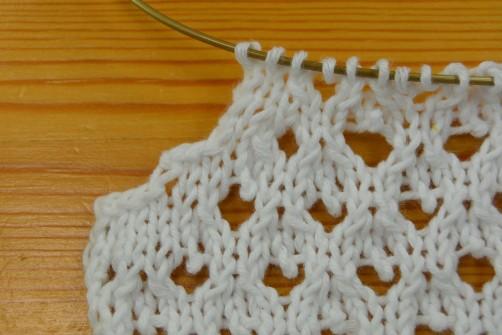 schoenstricken Knit Along Bolero mit Herz Armausschnitt 1