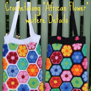 """Ein paar Details zum CAL – Tasche """"African Flower"""""""