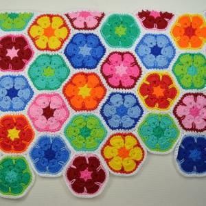 """CAL Tasche """"African Flower"""" Teil 4"""