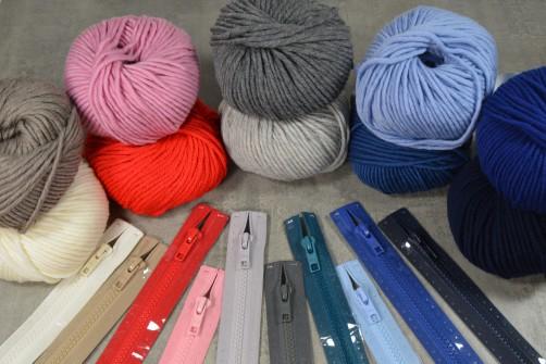 Farbkombi Kinderweste Baschti