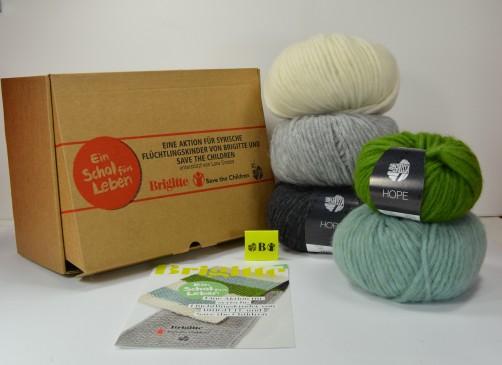 Wollpaket Ein Schal fürs Leben 2019