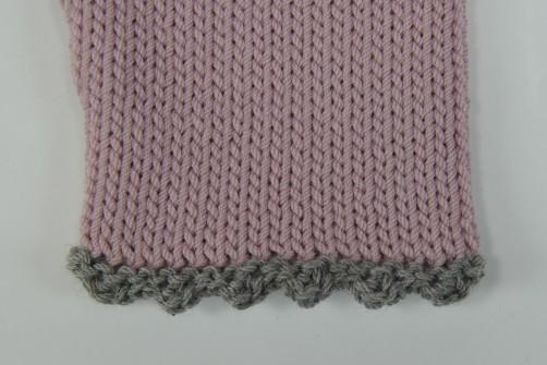 schoenstricken.de Bolero Detail Armabschluss