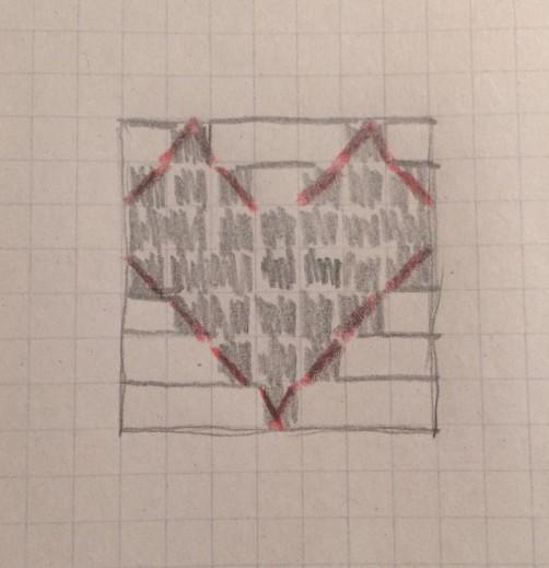 schoenstricken.de Häkelschrift Windlicht Herz 1