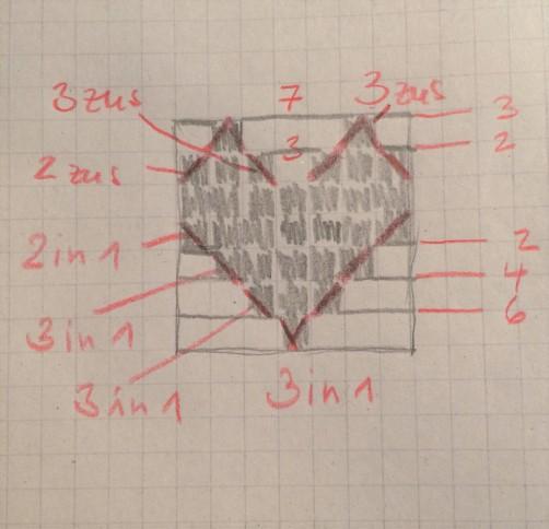 schoenstricken.de Häkelschrift Windlicht Herz 2