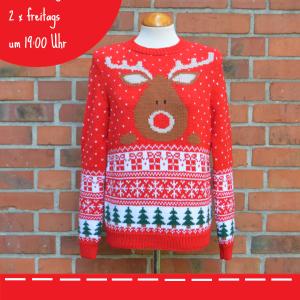 Details zum Weihnachtspullover – Knitalong
